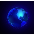 Earth Space Background vector image