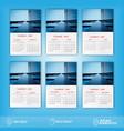 2020 new calendar design vector image vector image