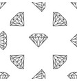 diamond sign isolated seamless pattern vector image