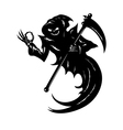 Funny Grim Reaper vector image
