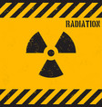 grunge radiation background vector image