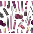 hand drawn lip gloss vector image vector image