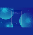 modern blue abstract particle background design vector image vector image