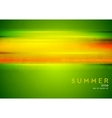 Abstract summer background with glowing stripes vector image vector image