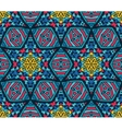 Abstract Tribal mosaic ethnic seamless pattern vector image vector image