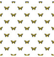 butterfly in wildlife pattern seamless vector image
