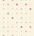 Color seamless textured diamond pattern vector image