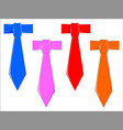 dads ties vector image vector image