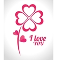 Love card design eps 10 vector image vector image