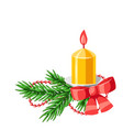 merry christmas decorative element vector image