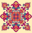 oriental geometric pattern vector image vector image