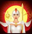 Solar Queen vector image