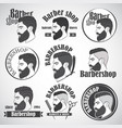 barber1 vector image vector image