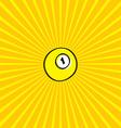 billiard ball sketch doodle vector image vector image