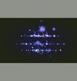 bokeh sparkle glitter luxury glamor camera flash vector image