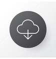 cloud icon symbol premium quality isolated vector image
