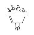 ecommerce conversion icon hand drawn icon set vector image
