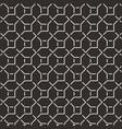 geometric black pattern background texture vector image