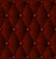 leather texture luxury brown seamless pattern vector image vector image