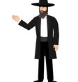 Orthodox jewish man vector image