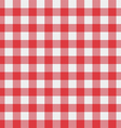 picnic tablecloth pattern vector image