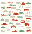 Transport seamless pattern vector | Price: 1 Credit (USD $1)