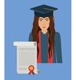 university education design vector image vector image