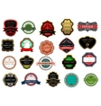 Badges and labels set vector image