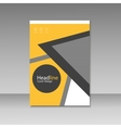 Abstract brochure design Modern cover backgrounds vector image