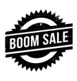 boom sale rubber stamp vector image vector image
