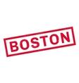 Boston rubber stamp vector image