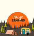 Camping background