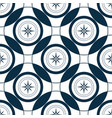 mariner compass wind rose seamless pattern sea vector image vector image
