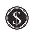 money symbol icon vector image vector image