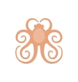 picture of a logo octopus vector image vector image