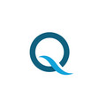 q letter icon vector image