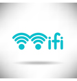 WiFi Graphic vector image