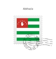 Abkhazia Flag Postage Stamp vector image vector image