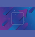 abstract business arrow with blue and purple color vector image vector image