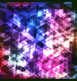 abstract colorful geometric modern background with vector image vector image