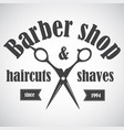 barber29 vector image vector image