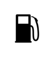 Gas pump Icon Flat vector image vector image