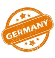 Germany grunge icon vector image vector image