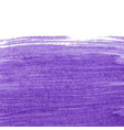 purple abstract watercolor background with space vector image vector image