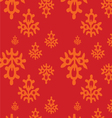 seamless indian native pattern2 vector image vector image