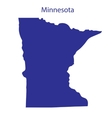 United States Minnesota vector image vector image