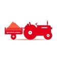 logo tractoragricultural company vector image