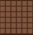 chocolate bar pattern vector image