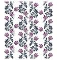 Flower texture pattern vector image