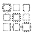 frames set abstract vector image vector image